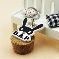 absolute ring - quot Youpop KPOP Fan B A P Best Absolute Perfect rabbit group Plastic Fashion Personalized Key Chain Ring Keyring P0283