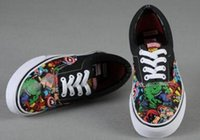 american girl sized shoes - Womens The Avengers Casual Sneakers Low Top American Hero Casual Sports Canvas Shoes Ladies Girls Marvel Leisure Shoes Size