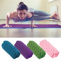 Wholesale 183cm x cm High Quality Soft Travel Sport Fitness Exercise Yoga Pilates Mat Cover Towel Blanket New Arrival