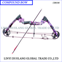Wholesale Compound Bow Archery Bow for Hunting or Shot Hot Sale fps purple color play outdoor