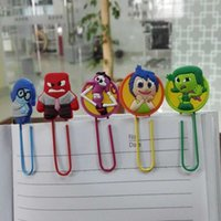 art craft books - New Arrival Inside Out Cartoon Bookmarks paper Holder Book clip bookmarks for book Kids Gifts Guarantee Art Crafts