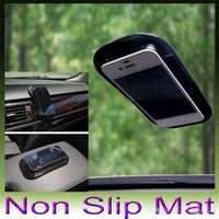 Wholesale New Powerful Silica Gel Magic Sticky Pad Anti Slip Non Slip Mat for Phone PDA mp3 mp4 Car Accessories Multicolor