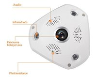 access security products - 2016 New products listed CCTV Security IP camera Fisheye Panorama degree cameras for office warehouse