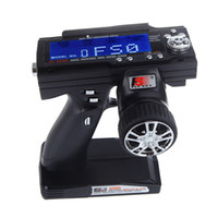 Wholesale HOT Ch Flysky FS GT3B G Gun Remote Control Transmitter Receiver For RC Car Boat