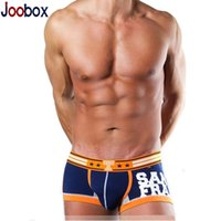 Wholesale New arrival cotton men boxers sexy men boxer shorts U Convex Pouch man underware fashion brand cueca boxer colors