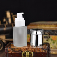 acid shampoo - 30ml glass Frosted Shampoo Package Container Cosmetic Emulsion Cream Packaging Atomizer by DHL