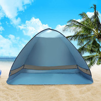 Wholesale Hot Selling UV Protected Quick Automatic Opening Beach Tent Summer Beach tent Park Picnic Fishing Outdoor Shade Tents MA0163 kevinstyle