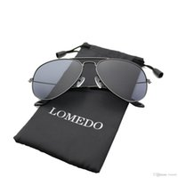 Wholesale LOMEDO Polarized Aviator Sunglasses Small Metal Frame Mirrored Lens sunglasses for men eyewear for women eyeglasses fashion sunglasses