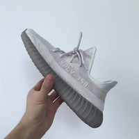 Wholesale With Original box Receipt Kanye West Boost V2 All White Core Black Red Limited Mens Running Shoes Womens Sports Shoes DHL Shipping