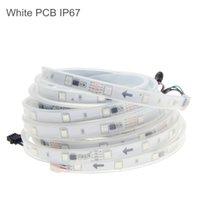 DC12V 5m 150LED conduit bande 6803 IP67 6803 IC SMD 5050 RVB rêve Magic LED couleur bande