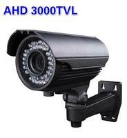 Wholesale New Security Camera AHD TVL P MP CCTV Varifocal Lens Outdoor Bullet Camera mm Lens IR Camera