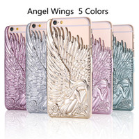 apple iphone angels - Luxury Angel Wings Emboss PC Hard Iphone Case for Iphone s Plus Iphone s