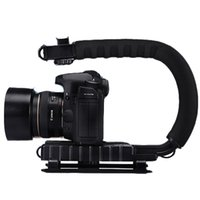 Wholesale U Bracket C Shape Bracket Shooting Bracket Portable Professional Camera or Camcorder Action Stabilizing Handle with Standard