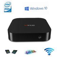 Wholesale Wintel CX W8 Mini PC TV Box with Dual OS Windows10 Android Intel Atom Z3735F CPU GB RAM GB ROM Pocket PC