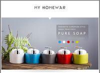 Wholesale European Ceramic Bathroom Soap Liquid Dispenser Pump Sponge Caddy Scrubby Holder