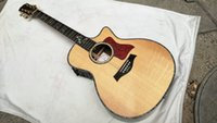 Wholesale 2016 New listed Natural Acoustic Electric Guitar With Fishman Prefix Plus T Pickups In Stock