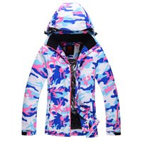 Wholesale Ski suit female thickening winter outdoor monoboard skiing clothing waterproof thermal hiking ski suit female