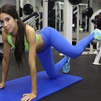 Wholesale Yoga Pants Women Sports Tight Leggings Candy Color Woman Gym Fitness Leggings Workout Pants