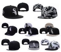 baseball caps chicago - Chicago White Sox Team Baseball Caps Top Quality Sports Caps Adjustable Snapback Caps Fashion Hip Hop Hats Cool Caps