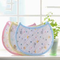 apron cotton white - New Infant Saliva Baby Watertowels Bibs Baby Wipes Wear Accessories Kids Cotton Apron Handkerchief Children Bib Pinafore