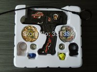 Wholesale 2015 Beyblade set sale d Launcher sale Metal Fusion gyro Kids Game Toys beyblade toy set Children Christmas gift