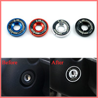 audi tt alloys - Aluminium Alloy Ignition Key Ring Direction Car Styling For AUDI A1 A3 A4 Q3 TT S3 TTS BLACK RED BLUE SILVER