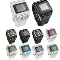 Wholesale Unlocked Touch Screen GSM Dual SIM Camera Alarm Wrist Watch Mobile Cell Phone Q9