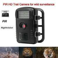 Wholesale 720P HD Video Waterproof PIR Hunting Game Scouting Trail Camera For Deer Tiger Lion Wild Surveillance