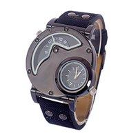 Wholesale business style Fashion Vine Cow leather Bracelet Watches man Wristwatch Quartz Watch sport style Relogio Feminino Hot Selling