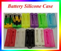 Wholesale Silicone Case bag for Battery Silicone Case Mix Colors Replaceable dual Battery Cover Rubber Skin Protector Fit Batter