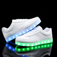 adult flash - Knit Mesh Flat Shoes USB Charging Led Light Up Sneakers for Kid and Adult Slip On Loafers Breathable Colorful Flashing Shoes