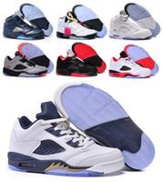Wholesale Retro V Men Women Basketball Shoes Sneakers Retros Shoes Authentic J5s Sports Homme Zapatos Real Replicas Cheap