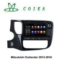 Wholesale Quad Core Android Car DVD Head Unit For Mitsubishi Outlander GPS Navigation RDS Radio BT Phonebook P