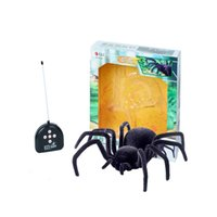 Wholesale Webetop Remote Control Tricky Toys Black Spider