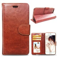 apple iphone supply - hottest Factory supply Leather flip Case With Photo Frame ID Card Holder Phone Cover galaxy S6 Samsung G9200 iphone plus C SW