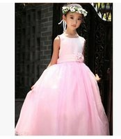 Wholesale Formal Events Girl Dress Wedding Party Children s Dresses For Girl Lace Sequins Princess Tutu Dress Birthday Clothes For ages