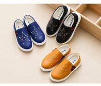 Wholesale 16 the spring and autumn period and the new boy s han edition fashion casual shoes rivets children sandals cuhk children s leather shoes