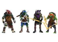 Wholesale New Teenage Mutant Ninja Turtles Movie Action Figure TMNT Toys Color Multicolor