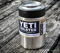 lighted cup holder - 12 oz Yeti Vacuum Insulated Rambler Colster Insulated Cup Mug Drink Holder Insulated Koozie Stainless Steel