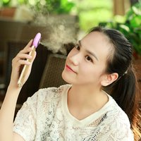 Wholesale Mini Facial Beauty Equipment Nano Moblie moisture Supplier Moisturizer Face Water Spray humidifier For iPhone Android Phone HHA936