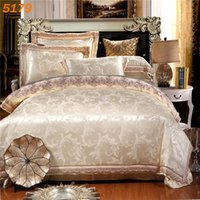 Wholesale new arrival Off white silk bedding set queen size silk linen king size silk bed set tencel duvet cover cotton bed sheet