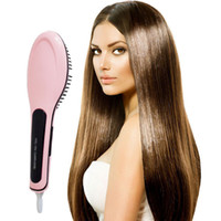 Wholesale Magic Comb FAST Hair Straightener Brush Comb Hair Straightening Iron Electric Dafni Hair Brush Hair Styling Tool VS Beatiful Star