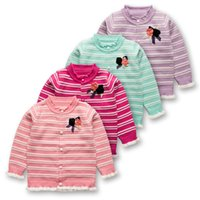 Wholesale 2016 Spring New Boys Girls cardigan sweater wool sweater wild flowers