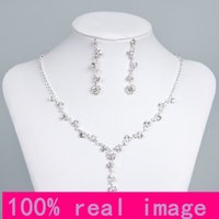 big drops - Big Discount Unique Wedding Bridal Bridesmaids Rhinestone Black Bracelet Jewelry Set for Party Prom