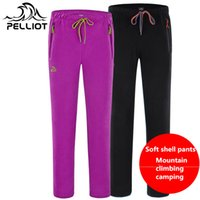 air soft pants - pelliot grasp sweat pants men s and women s outdoor more authentic autumn warm air sports leisure pants of soft shell