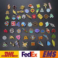 Wholesale 58pcs set Style Poke Badges Brooch Sets Fashion Metal Brooch Children Kids Intellectual Develop Brooch Toys Gifts WX B03