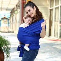 Wholesale 10pcs No Fluorescent Mixed Colors Multifunction Strectchy Baby Sling Wrap Carrier Solid Color Y