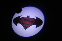 Wholesale Superman batman Wireless Car LED door Welcome Projector Logo ghost shadow light ALL Car