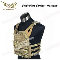 Wholesale Multicam FLYYE Fast Moving Lightweight Swift Plate Carrier JPC Vest with D Cordura Waterproof Nylon FY VT M028