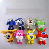 airplanes movies - NEW Superwings plush toys Deformation Robot Stuffed Animals Mini airplane cartoon Plush Toys children cm inch styles toys